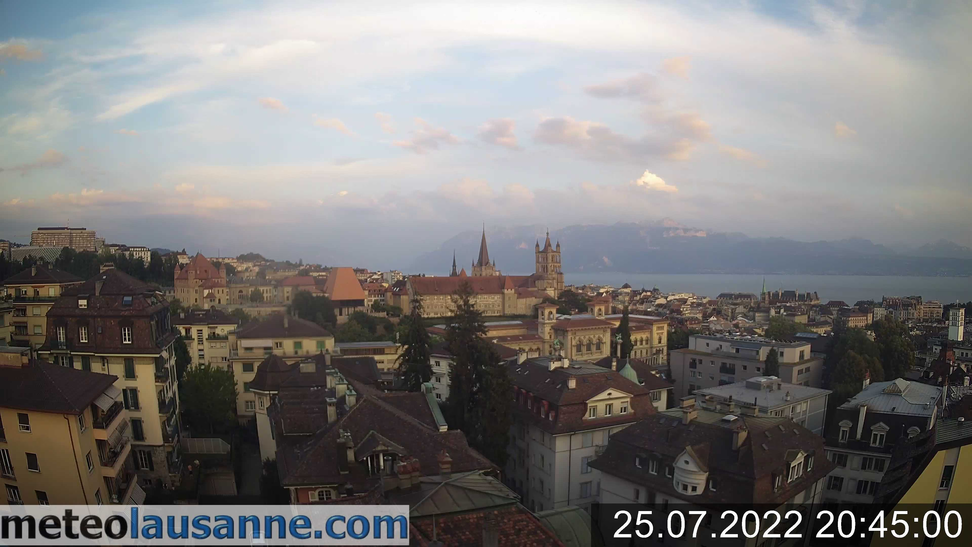 Swiss-Webcam.ch - Webcam Lausanne - Centre, Live Wetter (1004 Lausanne)